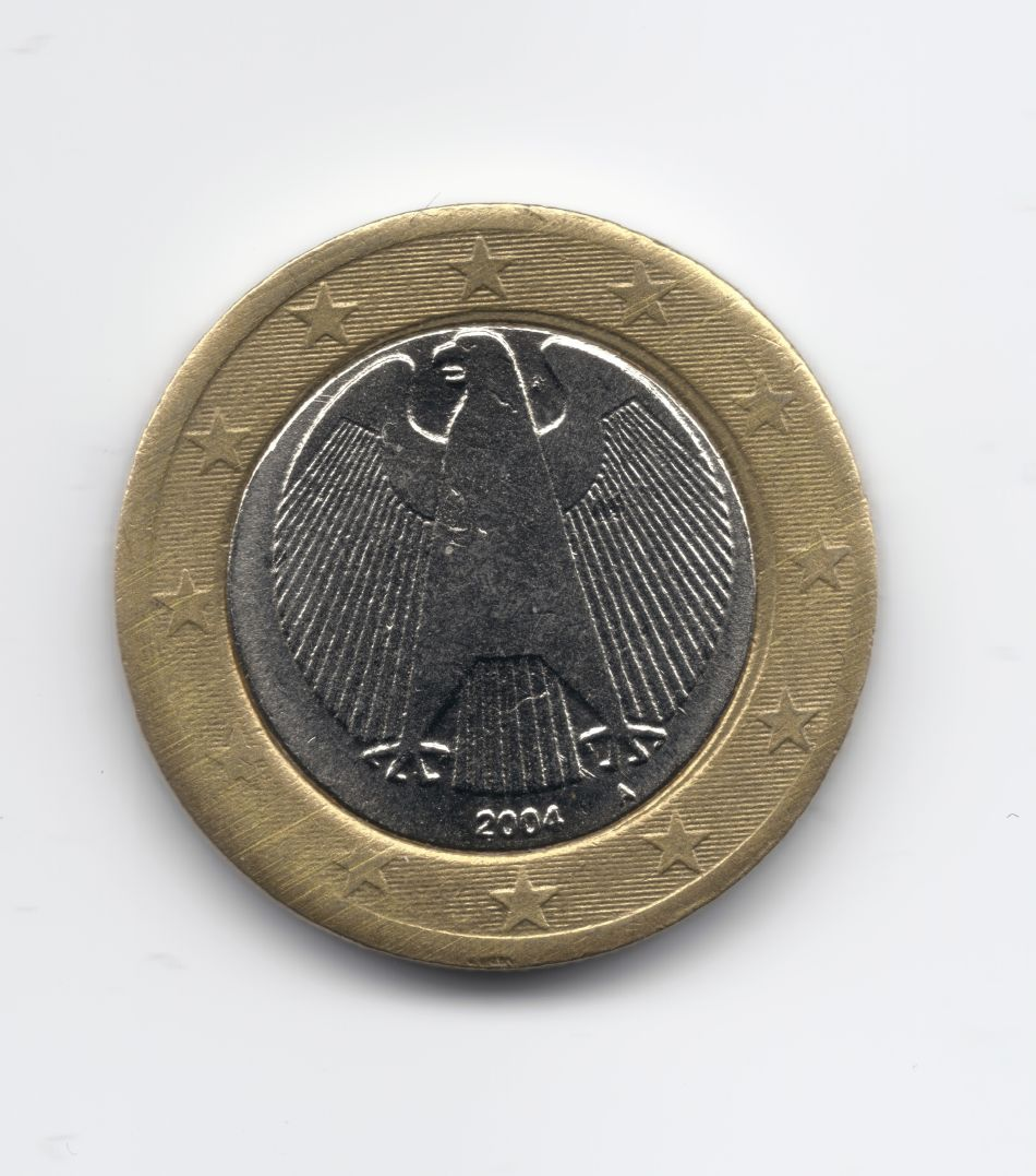 Moneta 1 euro germania falsa