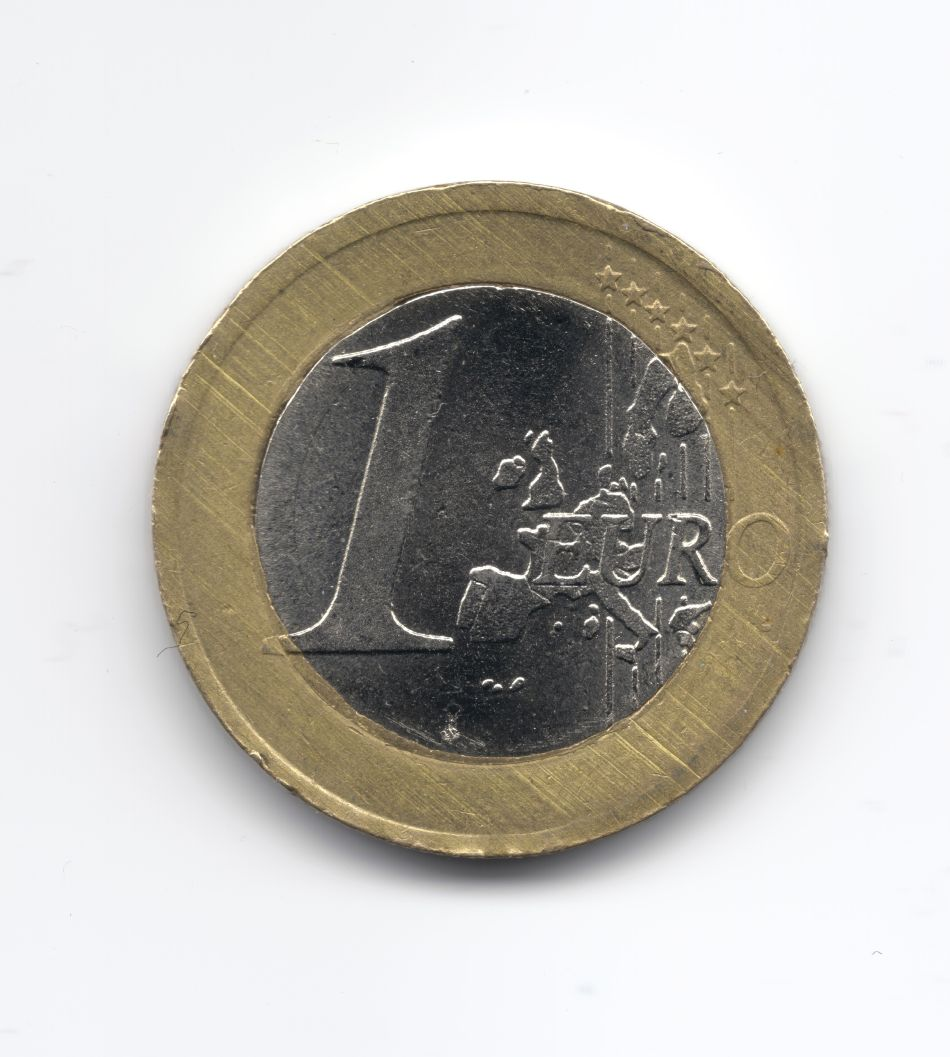 Moneta 1 euro germania falsa2