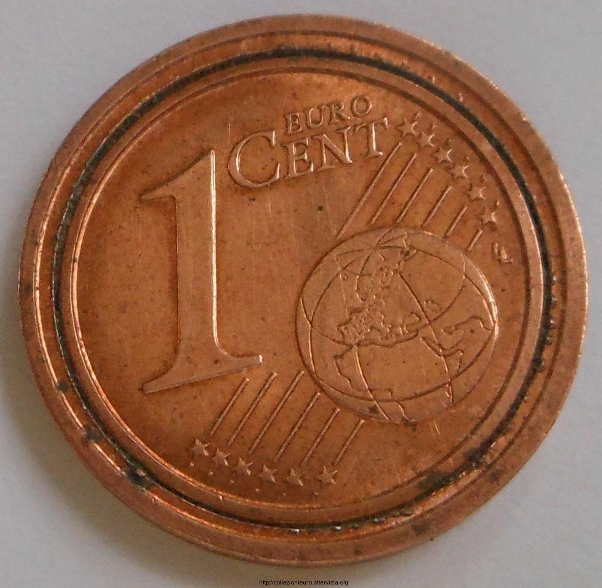 Italia 1 Cent su 2 cent italia 2002