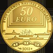 Francia 50 oro la gloire