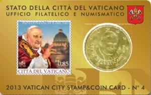 Vaticano Coin Card giovanni  XXIII 2013