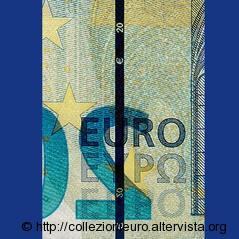 Banconote serie europa Filo sicurezza