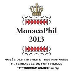 Monaco fiera filatelica Monacophil 2013