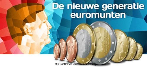 Olanda nuove monete 2014
