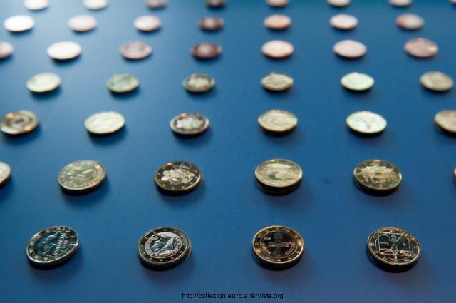 Bruxelles mostra monete euro 2013 a