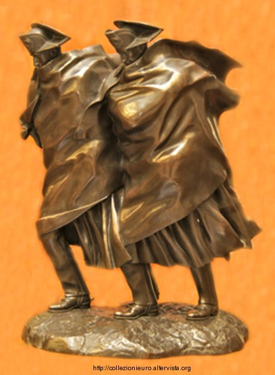 Italia Berti scultura Carabinieri