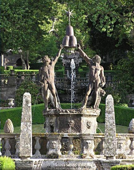 Italia bagnaia pinna Villa lante