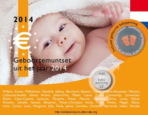 Olanda divisionale nascita orange 2014