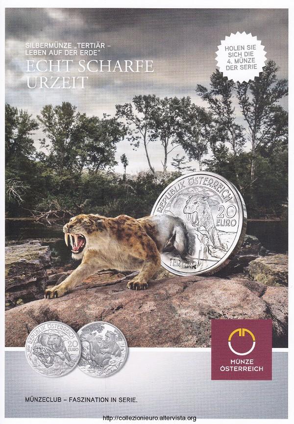 Austria 20 euro 2014 Tertiär