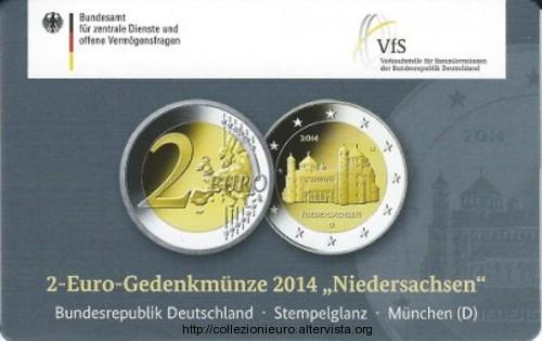 Germania 2 euro Coincard D (Munchen) 2014
