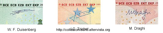 Firme presidenti BCE