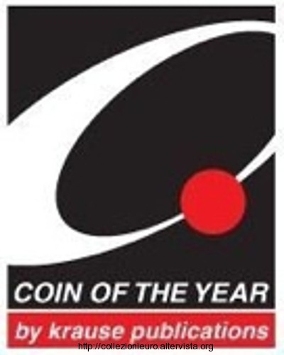 COTY Award  Coin of the Year 2015