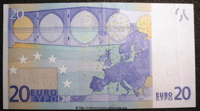 Banconota Slovenia Trichet E004 senza seriale