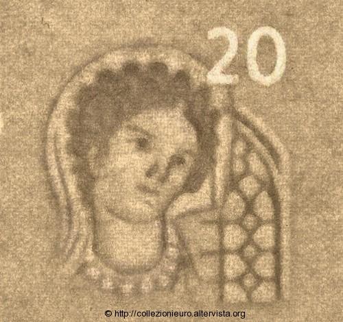 Banconota da 20 euro serie europa 2015 caratteristiche 2