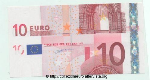Germania 10 euro taglio metà B