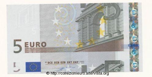 Germania 5 euro taglio metà B