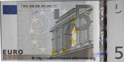 Germania 5 euro taglio metà C