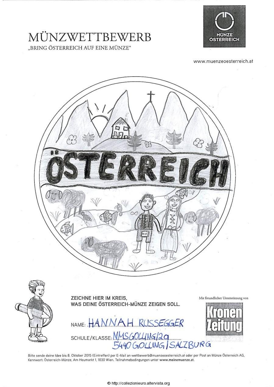 Austria bozzetto 10 euro austria 2016 2P