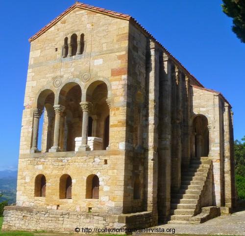 Spagna-chiesa-Santa-Maria-del-Naranco 2016
