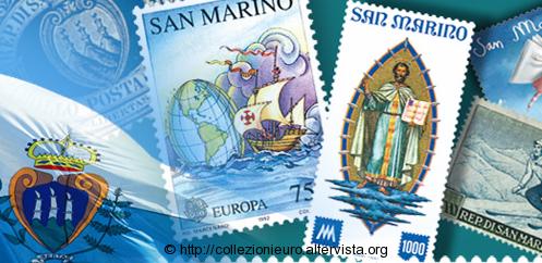 Programma emissioni filateliche San Marino 2016